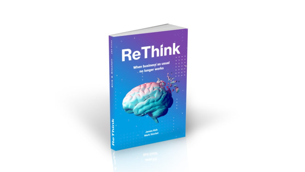Rethink 3D Book Cover